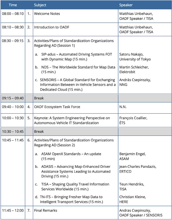 agenda-15th-open-autoDrive-Forum